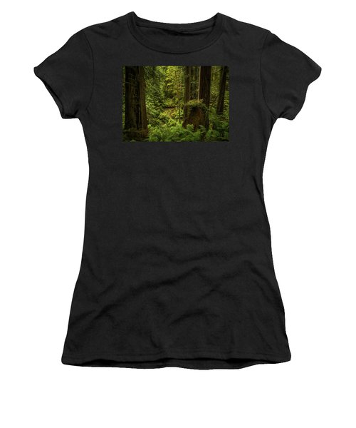 Forest Primeval Women's T-Shirt (Athletic Fit)