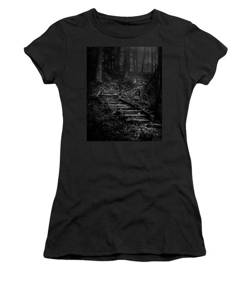 Forest Stairs Women's T-Shirt