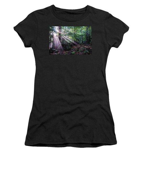 Forest Sunbeams Women's T-Shirt