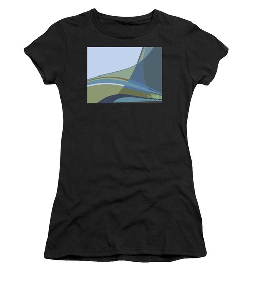 Forest View Women's T-Shirt (Athletic Fit)