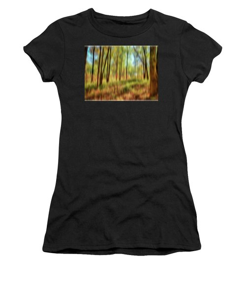 Forest Vision Women's T-Shirt (Athletic Fit)