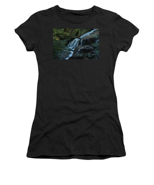 Forest Waterfall. Women's T-Shirt