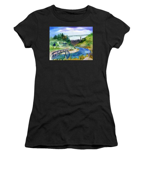 Foresthill Bridge #2 Women's T-Shirt