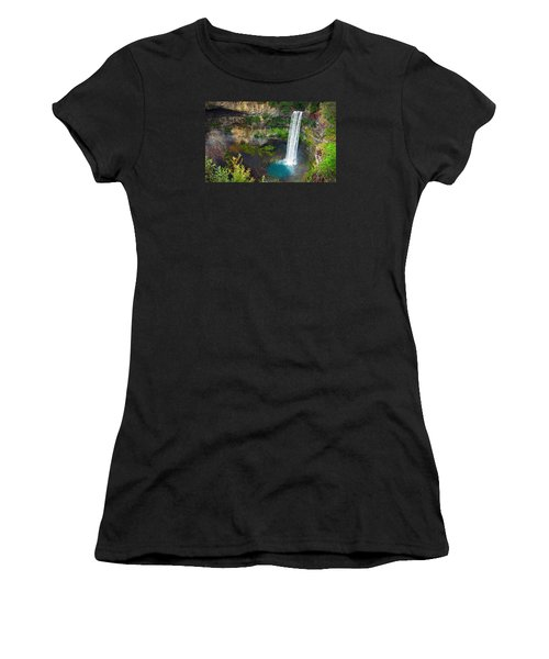 Brandywine Falls, Bc Women's T-Shirt (Athletic Fit)
