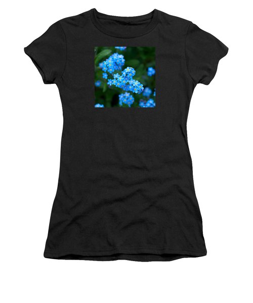 Forget -me-not 5 Women's T-Shirt (Athletic Fit)