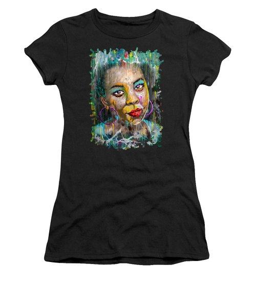 Forget-me-not Eyes Women's T-Shirt