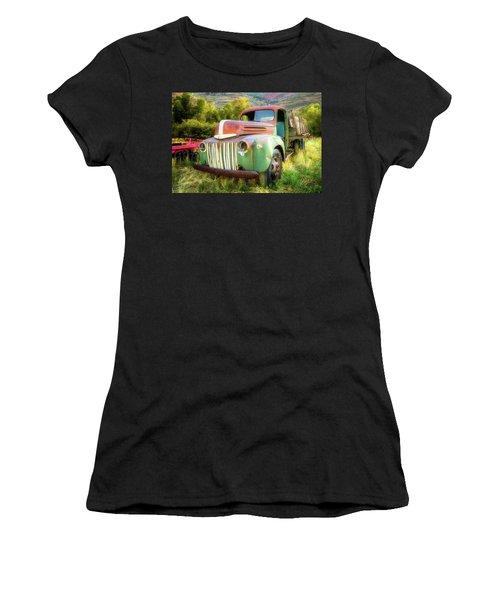 Forgotten - 1945 Ford Farm Truck Women's T-Shirt