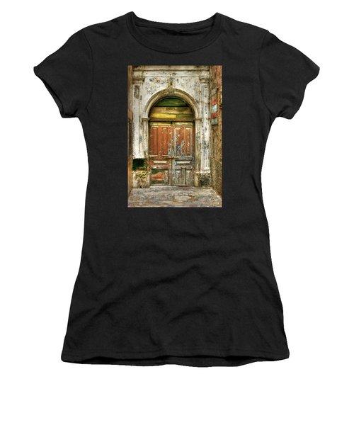 Forgotten Doorway Women's T-Shirt (Athletic Fit)