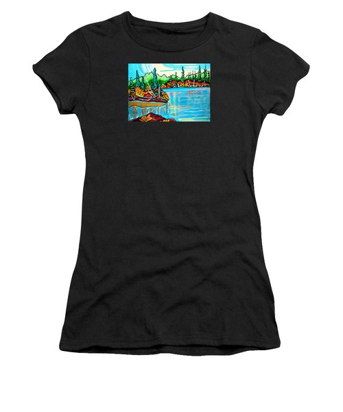Forgotten Lake Women's T-Shirt