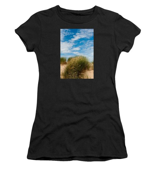 Formby Sand Dunes And Sky Women's T-Shirt
