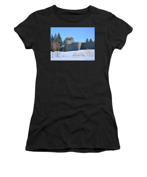 Fort Michilimackinac Northeast Blockhouse Women's T-Shirt