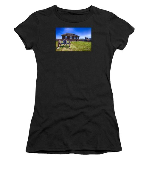 Fort Ross State Historic Park Women's T-Shirt (Athletic Fit)