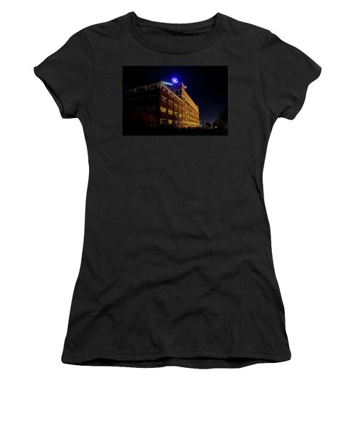 Fort Wayne In Ge Building - Jpmmedia.com Women's T-Shirt (Athletic Fit)