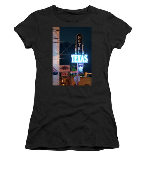 Fort Worth Hotel Texas 6616 Women's T-Shirt