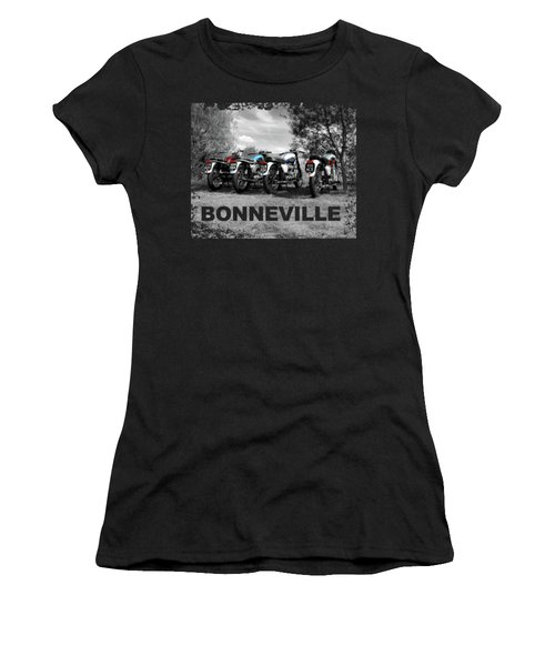 Four Bonnevilles Women's T-Shirt (Athletic Fit)