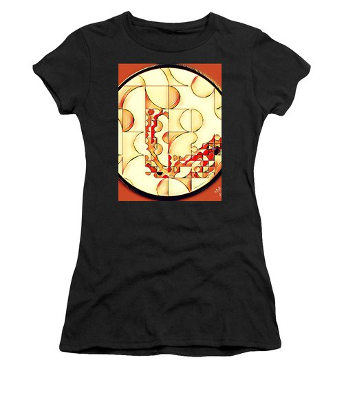 Four Circle Turn Women's T-Shirt (Athletic Fit)