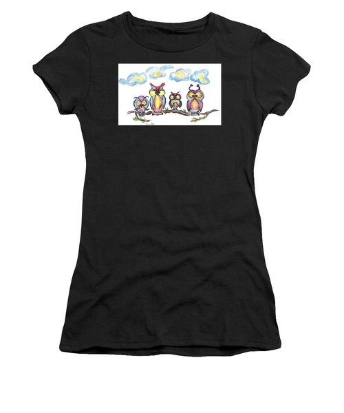 Four Friends  Women's T-Shirt (Athletic Fit)