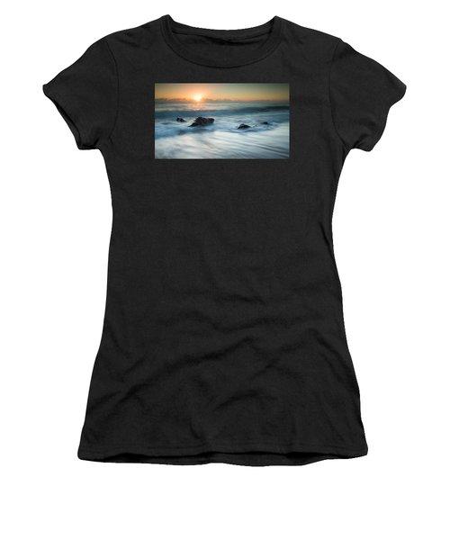 Four Rocks Women's T-Shirt (Athletic Fit)