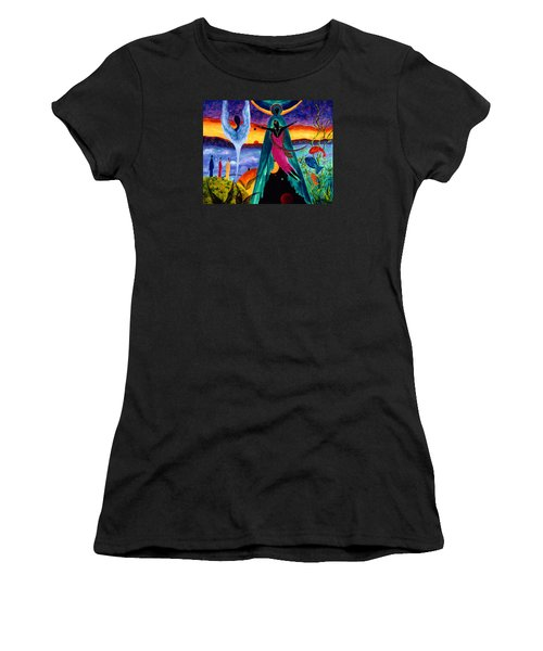 Flight Women's T-Shirt (Junior Cut) by Marina Petro