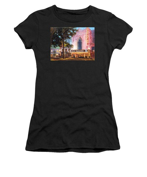 Fox Theatre In St.louis Women's T-Shirt (Athletic Fit)