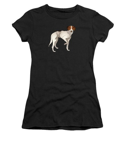Foxhound Women's T-Shirt (Athletic Fit)