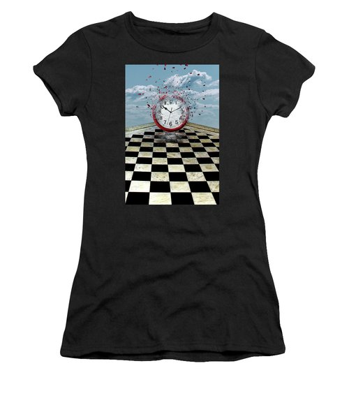 Fragments Of Time Women's T-Shirt (Athletic Fit)