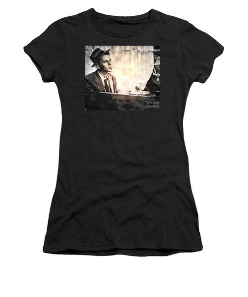 Frank Sinatra - Vintage Painting Women's T-Shirt
