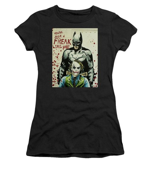 Freak Like Me Women's T-Shirt (Junior Cut) by James Holko