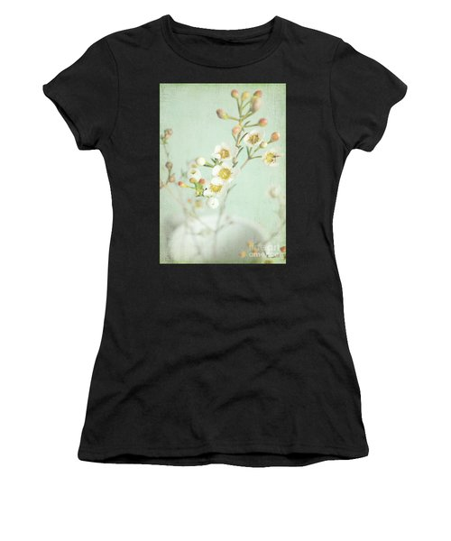 Freesia Blossom Women's T-Shirt (Athletic Fit)