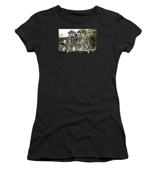 French Doors And Fire Escapes Women's T-Shirt