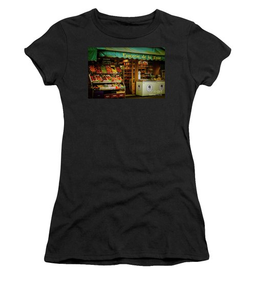 French Groceries Women's T-Shirt