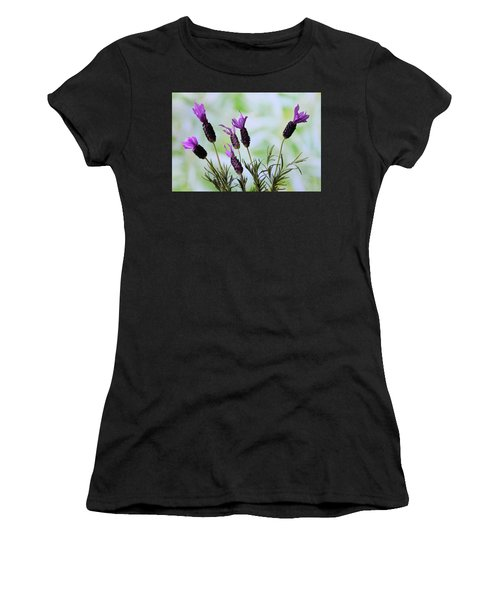 French Lavender Women's T-Shirt (Athletic Fit)
