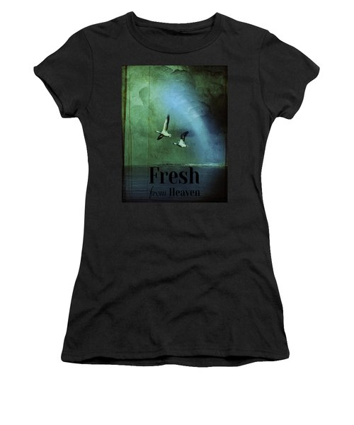 Fresh From Heaven Women's T-Shirt (Athletic Fit)