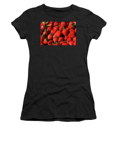 Fresh Strawberries Women's T-Shirt