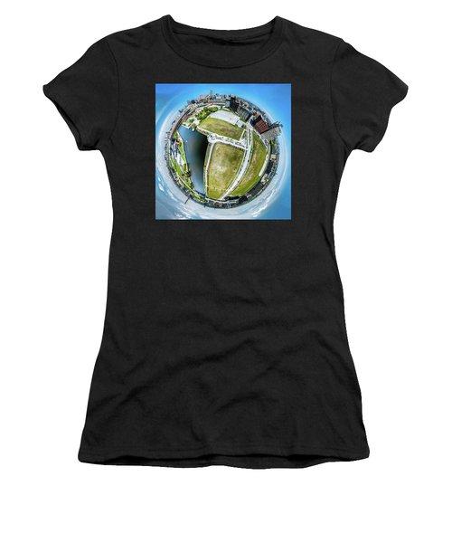 Freshwater Way Little Planet Women's T-Shirt