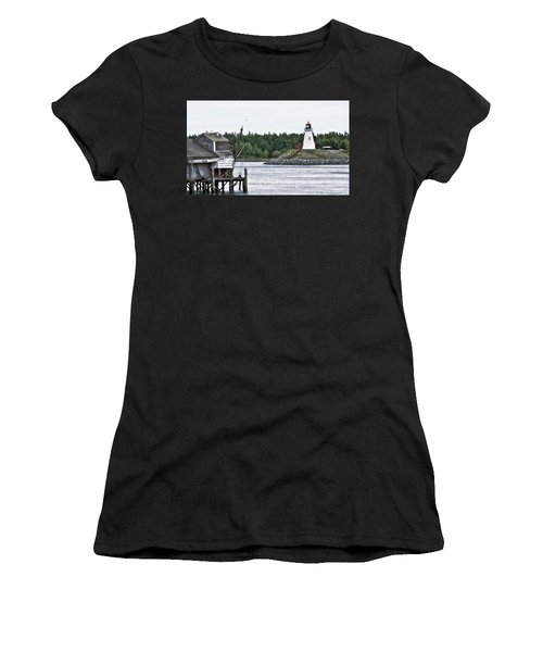 Friar's Head Lighthouse Women's T-Shirt (Athletic Fit)