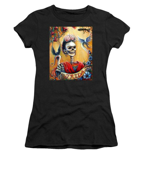 Frida Women's T-Shirt (Athletic Fit)