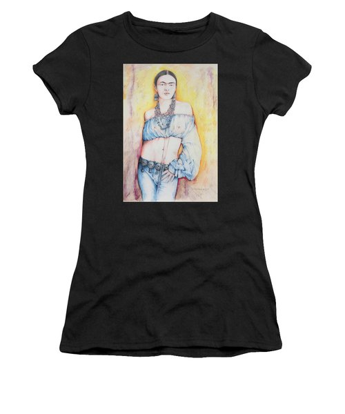 Frida Kahlo Women's T-Shirt (Athletic Fit)