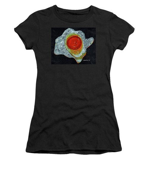 Fried Egg Women's T-Shirt (Athletic Fit)