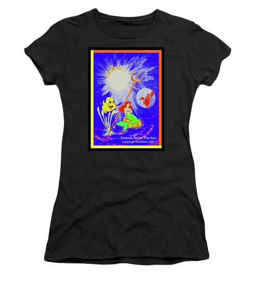 Friends Below The Sea Women's T-Shirt