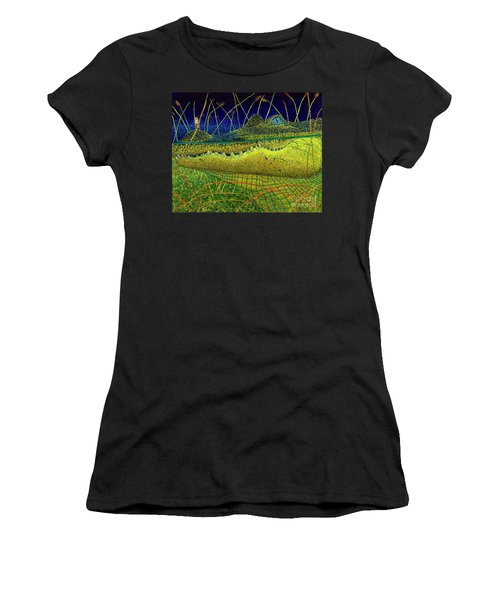 Swamp Gathering Women's T-Shirt (Athletic Fit)