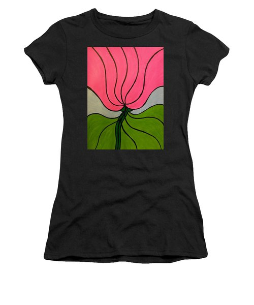 Friendship Flower Women's T-Shirt (Athletic Fit)