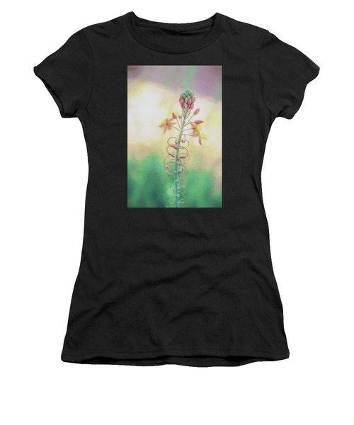 Frilly Flower Impression Women's T-Shirt