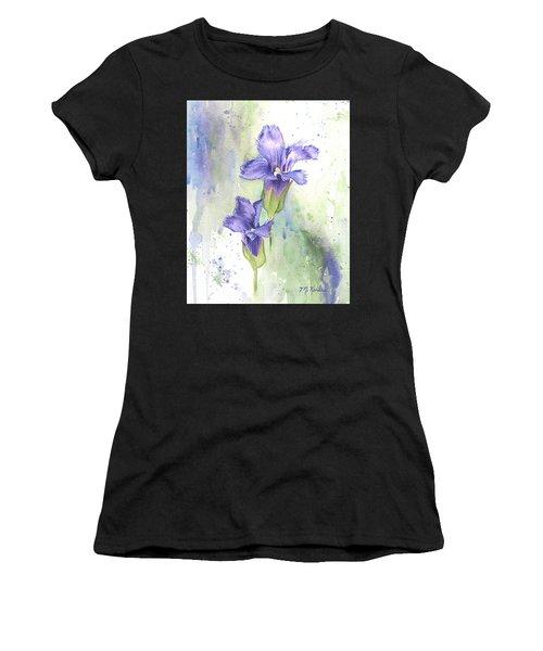 Fringed Gentian Women's T-Shirt