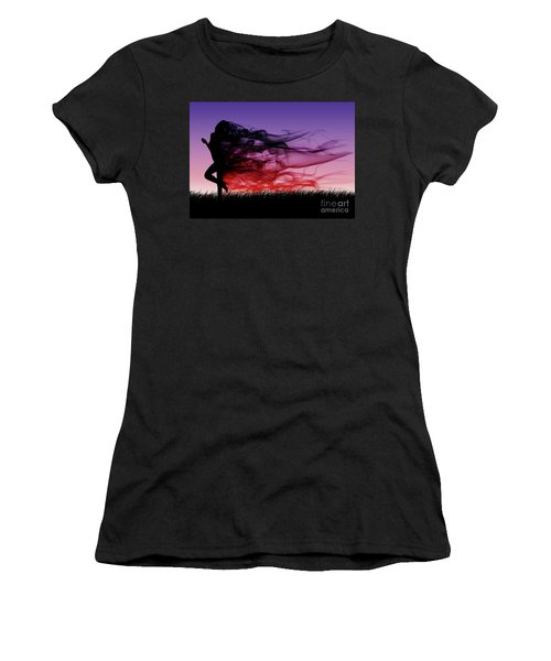 Frolicking Through The Meadow Women's T-Shirt (Athletic Fit)