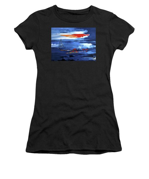From Cleveland Point Women's T-Shirt (Athletic Fit)