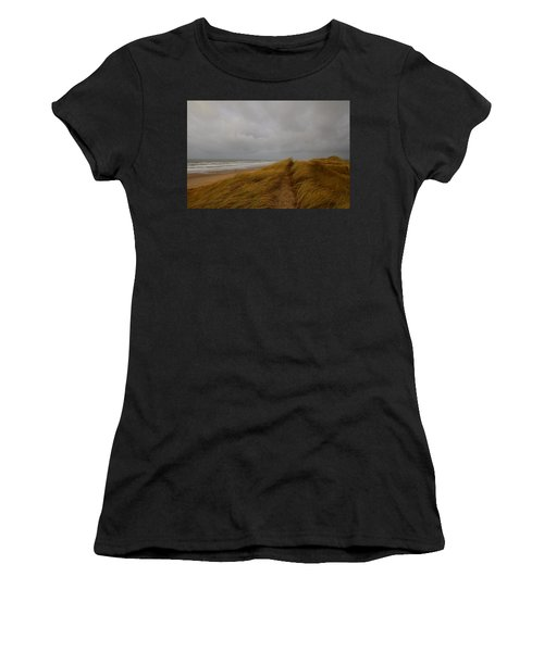 From Dunes To Sea Women's T-Shirt (Athletic Fit)