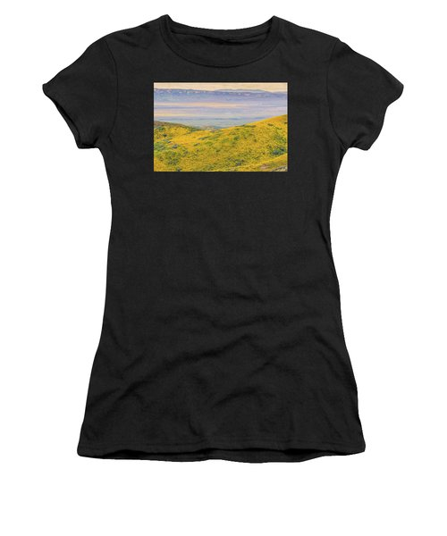 From The Temblor Range To The Caliente Range Women's T-Shirt