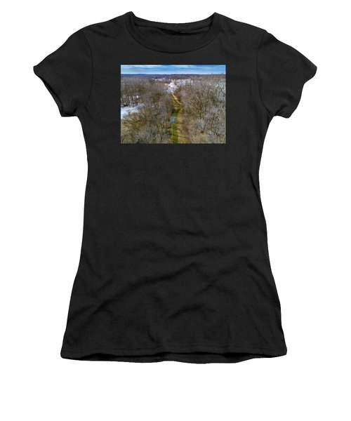 From Woods To Snow Women's T-Shirt (Athletic Fit)