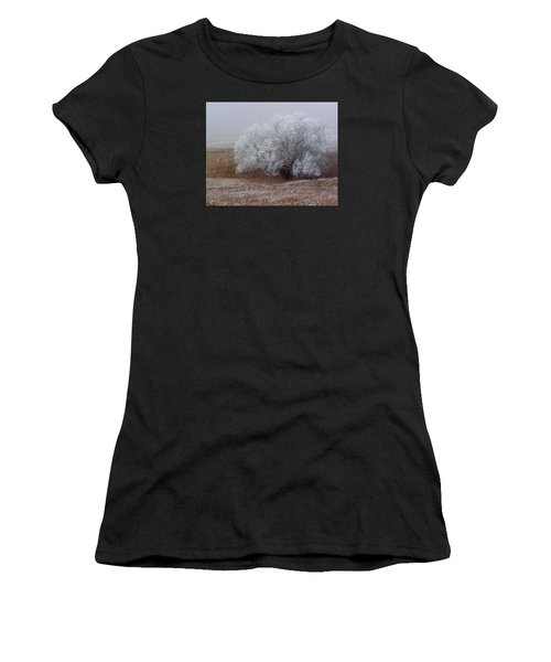 Frost And Fog Women's T-Shirt (Athletic Fit)